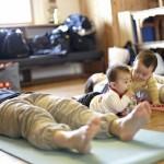【参加者の声】運動不足は子連れで参加できるママとベビーのヨガゆるりへどうぞ♪☆滋賀県