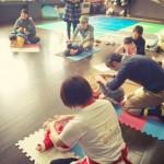 【参加者の声】はなうたsalon☆札幌市北区 笑顔いっぱい!!親子ふれあい遊びヨガ♪