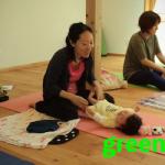 """【参加者の声】ヨガで""""ママが楽しめる時間""""を『子連れで通えるヨガ教室green yoga yuj』長野"""