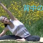 【シェイプアップヨガ動画】背中のゆがみを取り、ついでにくびれもつくっちゃおう♪