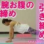 【動画付】コアを鍛え腕を強化する板のポーズ
